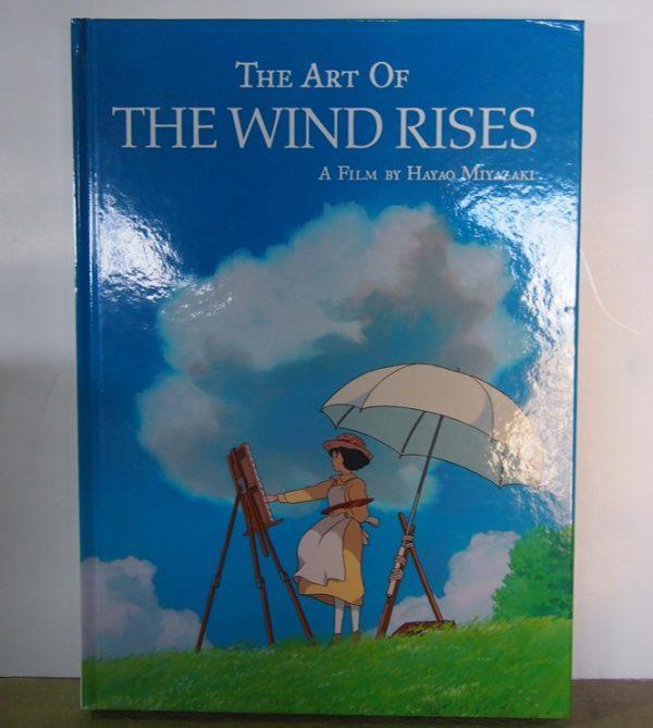 """EL ARTE DE """"THE WIND RISES, EL VIENTO SE LEVANTA"""", LIBRO DE ILUSTRACIÓN"""