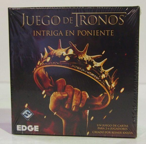 JUEGO DE TRONOS: INTRIGA EN PONIENTE, JUEGO DE CARTAS HBO CARTAS JCNC