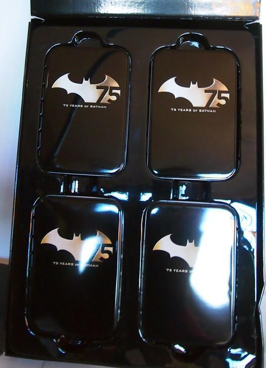 BATMAN PACK 4 FIGURAS 75 ANIVERSARIO 17 CM DC