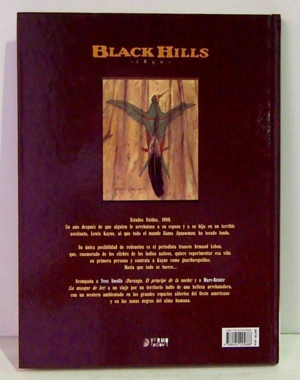 BLACK HILLS 1890 (INTEGRAL), COMIC EUROPEO
