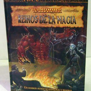 WARHAMMER FANTASY: REINOS DE LA MAGIA, JUEGO DE ROL.