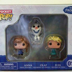 FROZEN DISNEY: MINI FUNKO POP POCKET TIN
