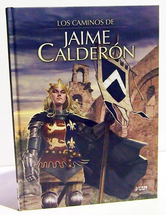 LOS CAMINOS DE JAIME CALDERÓN. COMIC EUROPEO, LIBRO