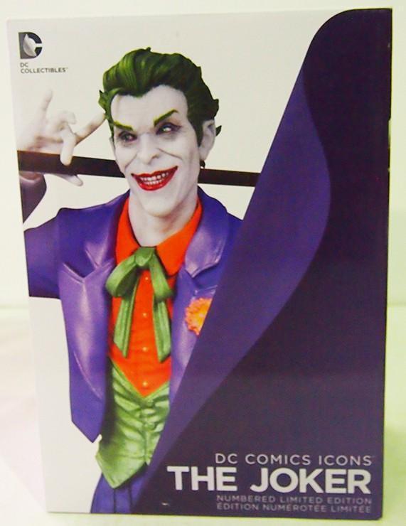JOKER ESTATUA DC COMICS ICONS ART, FIGURA ESTATUA RESINA