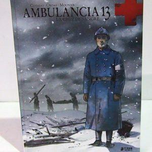 AMBULAnCIA 13, VOL. 1. COMIC EUROPEO