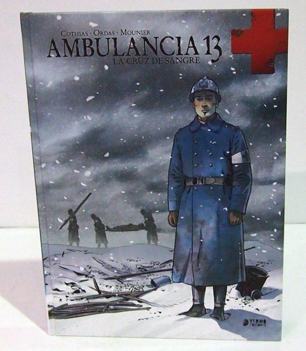 AMBULAnCIA 13, VOL. 1. COMIC EUROPEO