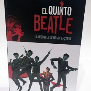 EL QUINTO: BEATLE LA HISTORIA DE BRIAN EPSTEIN, COMIC