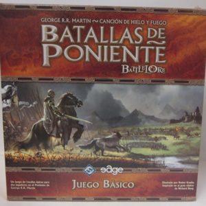 BATALLAS DE PONIENTE, CAJA BÁSICA, JUEGO DE TABLERO