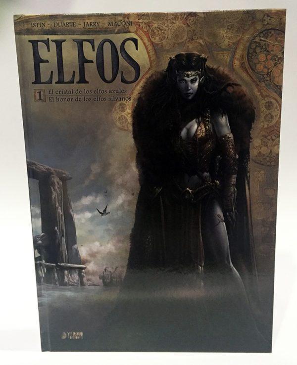 ELFOS 01: EL CRISTAL DE LOS ELFOS AZULES/ EL HONOR DE LOS ELFOS SILVANOS. COMIC EUROPEO