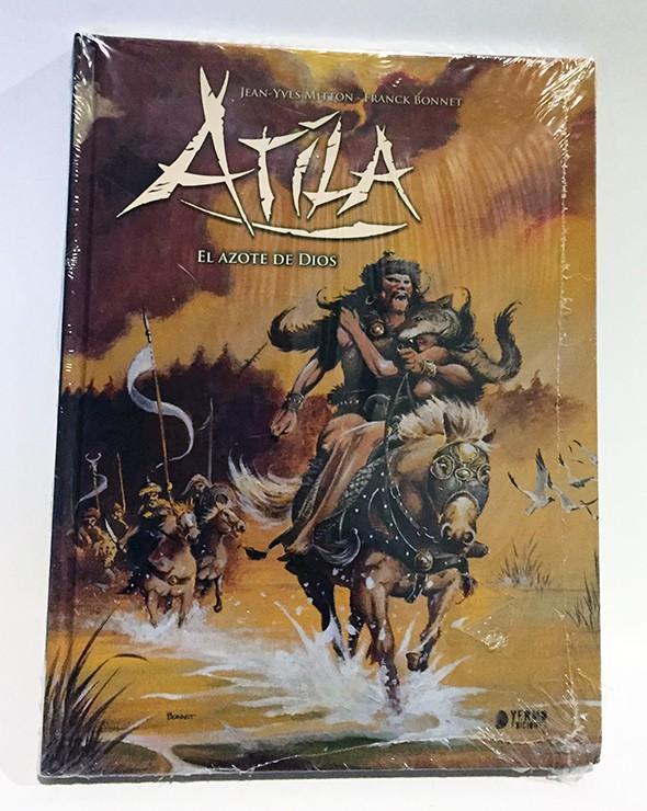 ATILA, INTEGRAL 2: EL AZOTE DE DIOS. COMIC EUROPEO