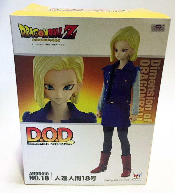 ANDROID N.18 FIGURA 10 CM DRAGON BALL Z SERIE DOD