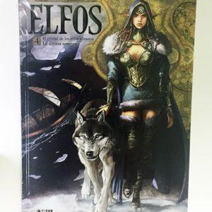 ELFOS 04. EL CRISTAL DE LOS ELFOS SILVANOS / LA ULTIMA SOMBRA COMIC EUROPEO
