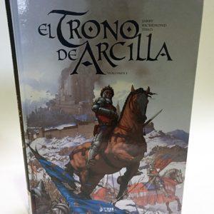 EL TRONO DE ARCILLA VOL 1. COMIC EUROPEO