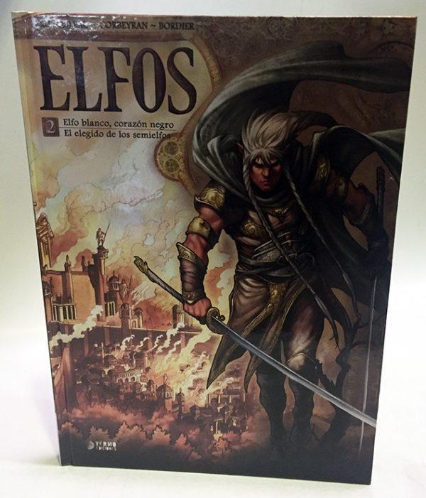 ELFOS 02: ELFO BLANCO, CORAZON NEGRO. EL ELEGIDO DE LOS SEMIELFOS. COMIC EUROPEO