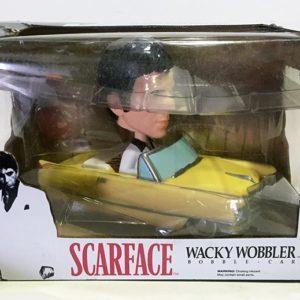 TONY MONTANA & CADILLAC WACKY WOBBLE RIDES! SCARFACE FIGURAS Y VEHÍCULO FUNKO POP