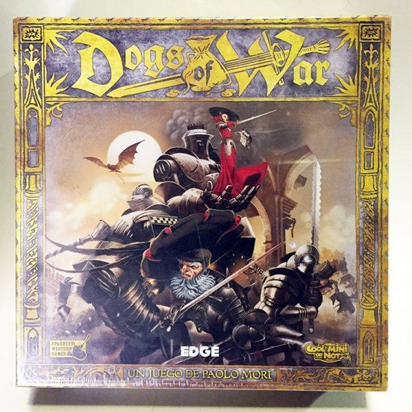 DOGS OF WAR, JUEGO DE TABLERO