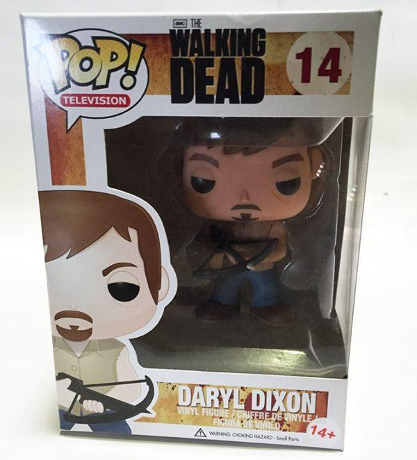 DARYL DIXON, FIGURA POP FUNKO THE WALKING DEAD