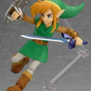 LINK BETWEEN WORLDS, DX EDITION FIGURA 11 CM , THE LEGEND OF ZELDA FIGMA