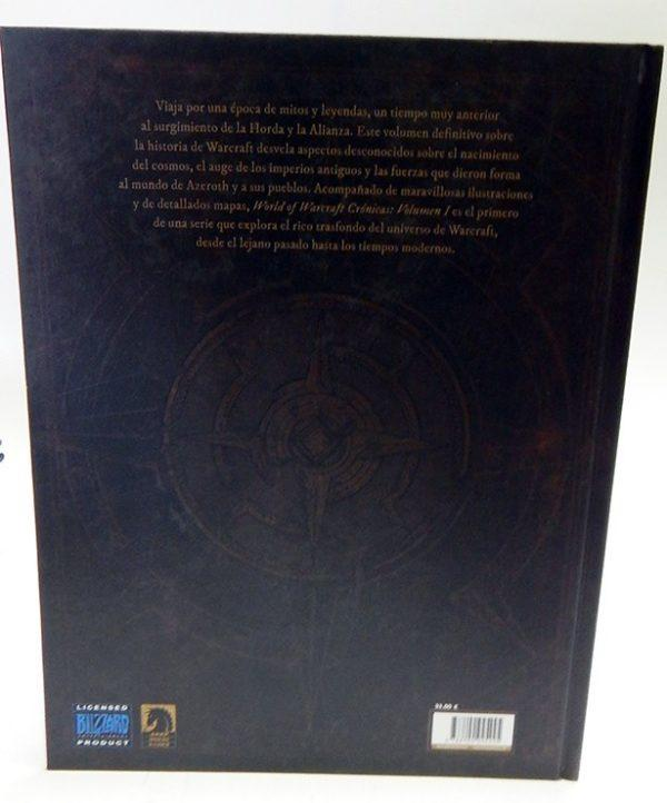 WORLD OF WARCRAFT. CRONICAS 01 LIBRO ILUSTRADO