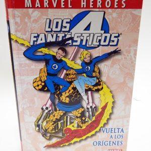 LOS 4 FANTASTICOS VUELTA A LOS ORIGENES COMIC MARVEL HEROES 14, COMIC AMERICANO
