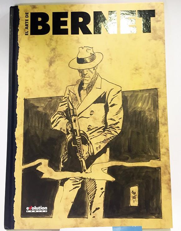 EL ARTE DE JORDI BERNET, ARTBOOK LIBRO ILUSTRADO COMIC EUROPEO
