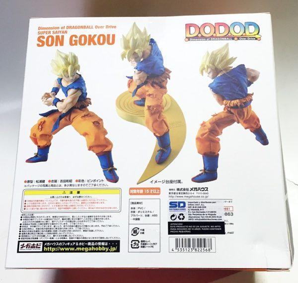 SUPER SAIYAN SON GOKU FIGURA 17 CM DRAGON BALL Z SERIE DOD OVER DRIVE