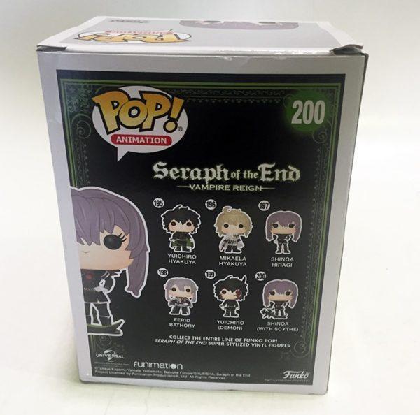 SHINOA CON GUADAÑA LTD FIGURA 10 CM VINYL POP ANIMATION SERAPH OF THE END FIGURA FUNKO POP