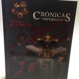 LEYENDA 5 ANILLOS 4ª ED. - CRONICAS IMPERIALES JUEGO DE ROL