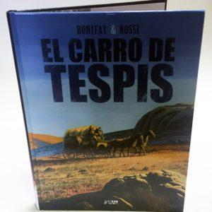 EL CARRO DE TESPIS, COMIC EUROPEO