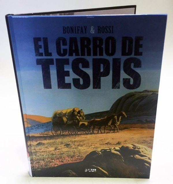 EL CARRO DE TESPIS, COMIC EUROPEO