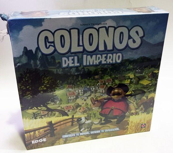 COLONOS DEL IMPERIO, JUEGO TABLERO, JUEGO DE MESA