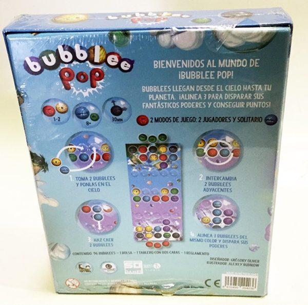 BUBBLEE POP, JUEGO DE MESA