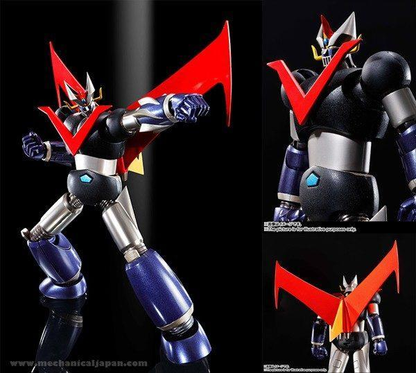 GREAT MAZINGER KUROGANE FINISH FIGURA 14 CM GREAT MAZINGER SUPER ROBOT CHOGOKIN