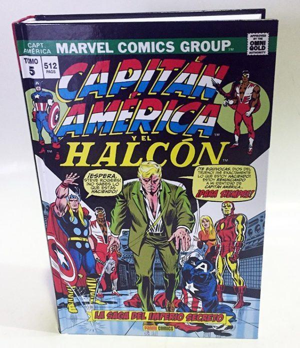 CAPITAN AMERICA Y EL HALCON 05. LA SAGA DEL IMPERIO SECRETO (MARVEL GOLD) COMIC AMERICANO