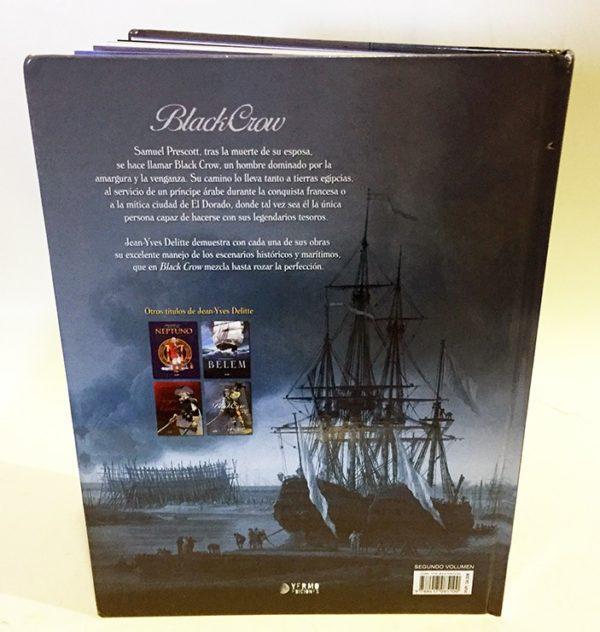 BLACK CROW 01: EL TESORO MALDITO COMIC EUROPEO