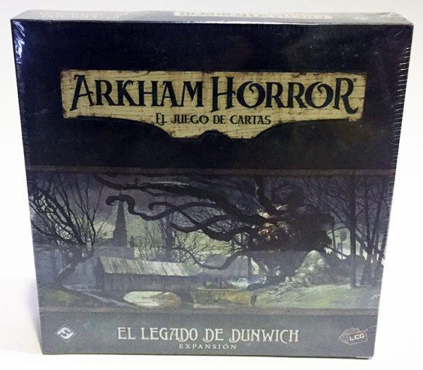 ARKHAM HORROR LCG - EL LEGADO DE DUNWICH, JUEGO DE CARTAS