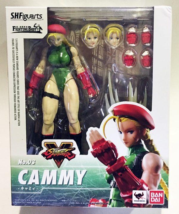 CAMMY STREET FIGHTER V , SH FIGUARTS FIGURA 15 CM