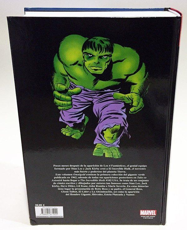EL INCREIBLE HULK 01 (MARVEL GOLD) MARVEL GOLD , COMIC AMERICANO