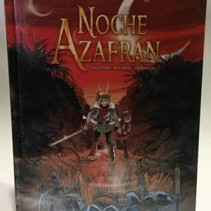 LEYENDAS DE TROY: NOCHE AZAFRAN COMIC EUROPEO