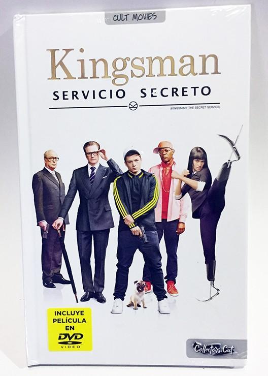KINGSMAN. SERVICIO SECRETO (COLLECTOR'S CUT) LIBRO + DVD
