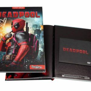 DEADPOOL (COLLECTOR'S CUT) LIBRO + DVD