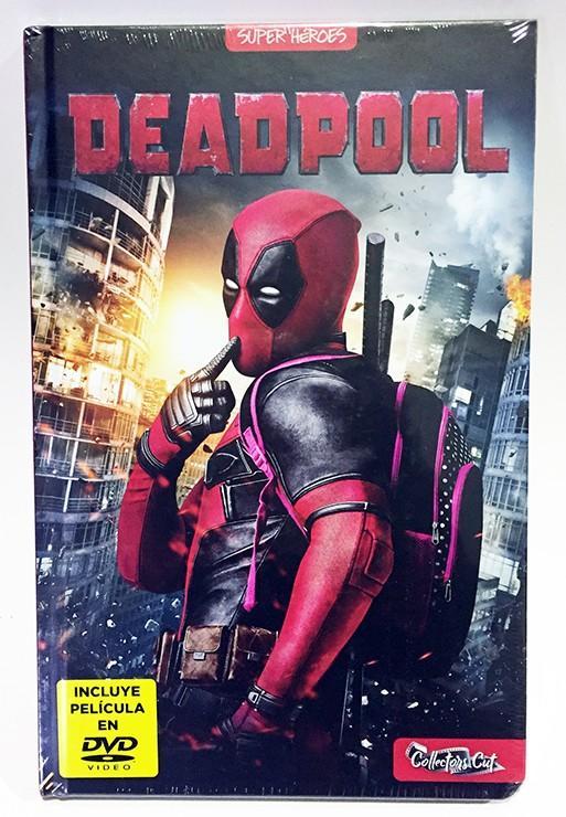 DEADPOOL (COLLECTOR'S CUT) LIBRO + DVD