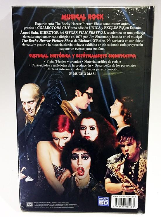THE ROCKY HORROR PICTURE SHOW (COLLECTOR'S CUT) LIBRO + DVD
