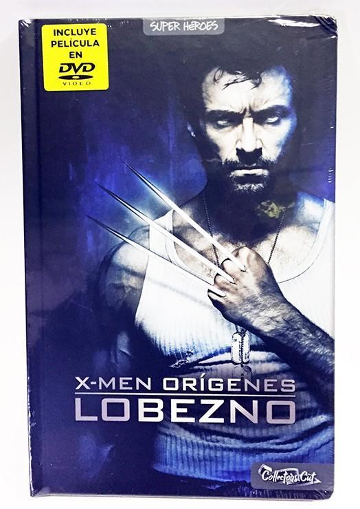 X-MEN ORIGENES. LOBEZNO (COLLECTOR'S CUT) LIBRO + DVD