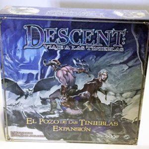 DESCENT, EXPANSIÓN: EL POZO DE LAS TINIEBLAS , JUEGO DE TABLERO