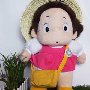 Mei con sombreo de paja, figura 45 cm de peluche Studio Ghibli