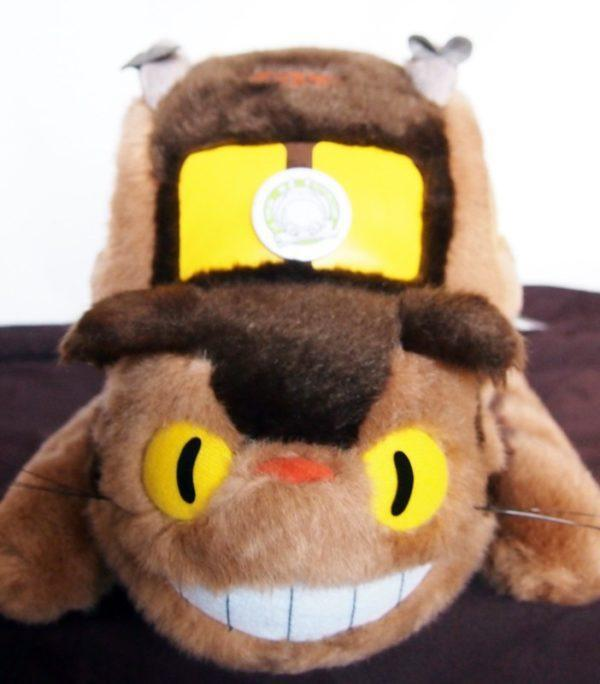 Gatobús con ratones, figura 55 cm de peluche Studio Ghibli