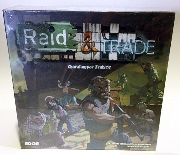 RAID & TRADE, JUEGO DE TABLERO