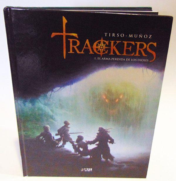 TRACKERS 01. EL ARMA PERDIDA DE LOS DIOSES. COMIC EUROPEO