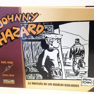 JOHNNY HAZARD 1948-1950 , LA MONTAÑA DE LOS DIABLOS BAILARINES , COMIC CLÁSICO AMERICANO